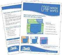 CPAP Wipes Sales Sheet image duo