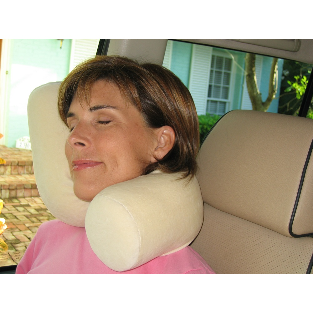 BEND IT! SHAPE IT! TWIST IT! THE TWIST PILLOW HOLDS ANY POSITION FOR THE ULTIMATE IN COMFORT & SUPPORT!