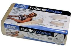 folding wedge-package
