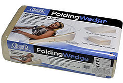 folding wedge-package